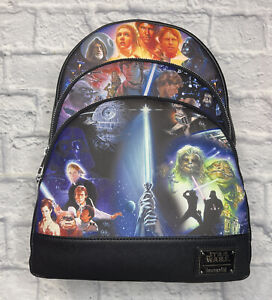 Loungefly Star Wars Original Trilogy Backpack New with Tags