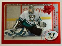 2002-03 O-Pee-Chee Premier Red - JEAN-SEBASTIEN GIGUERE #117 Anaheim Ducks /100
