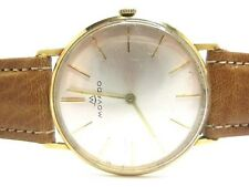 MOVADO Vintage 1960's Mechanical Movement Gold 14Carat. Gent Watch