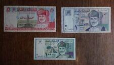 Billets de banque de 100 Baiza + 1 rial + 5 rial - bank of Oman