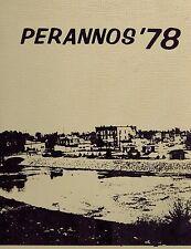 1977 - 1978 Perannos High School Flushing, Michigan Year Book