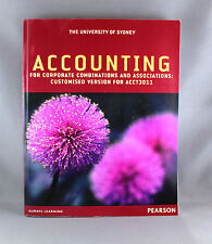 Accounting For Corporate Combinations & Associations: Customised For ACCT3011