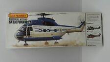 VINTAGE MATCHBOX 1/32 AEROSPATIALE/WESTLAND SA330 PUMA507 Model Helicopter Kit