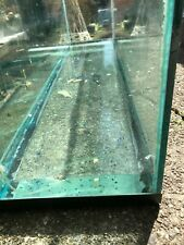 60 gallon fish tank, 12 inches wide, 48 inches long and 22 inches high.