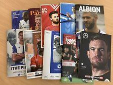 19/20 English Football Programme Bundle X 10