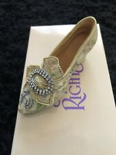 """Just The Right Shoe """"Afternoon Tea"""" By Raine - Free Shipping"""