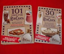 101 Uses for Rum Chata Spiral Bound Recipe Book & 30 Uses Booklet - New!
