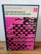 Quantum Mechanics Of One Et Two-Electron Atoms Bethe Hans Salpeter Edwin 1977