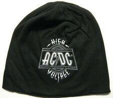 ac/dc high voltage jersey beanie
