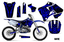 Yamaha YZ125 YZ250 Dirt Bike Graphic Sticker Kit Decal Wrap MX 1996-2001 HAVOC U
