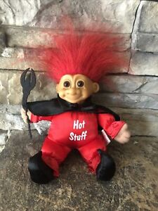 """Russ Troll Doll! 6"""" Red Hair Brown Eyes! Soft Body! Hot Stuff For Valentines Day"""
