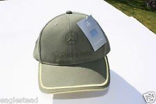 Ball Cap Hat - Mercedes-Benz - Green Yellow (H1330)