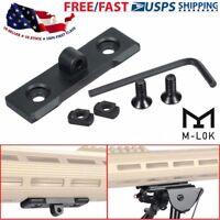 M Lok Bipod Mount Adapter Slot Handguard Systems For Harris Sling Stud Aluminums