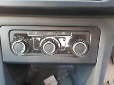 VOLKSWAGEN AMAROK HEATER AC CONTROLS SINGLE ZONE CLIMATE CONTROL TYPE