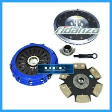 UFC STAGE 4 CLUTCH KIT+FIDANZA ALUM FLYWHEEL MITSUBISHI LANCER EVOLUTION 7 8 9