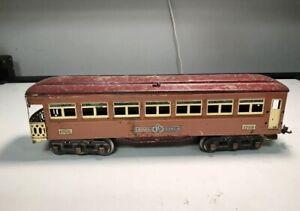 lionel prewar Standard gauge passenger Observation Car # 1768. 1930's. RARE !!!