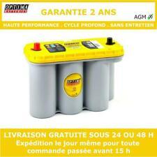Optima YTS 5.5 AGM Batterie à Décharge Profonde 12V 75Ah 975CCA