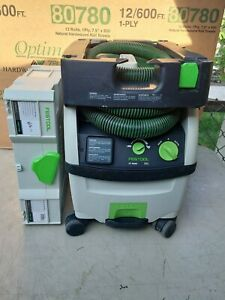 Festool CT MIDI 575267 HEPA Certified Dust Extractor W/ Compact Cleaning Kit