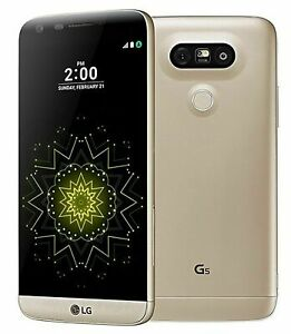 LG G5 H830T - 32GB - 4G LTE Smartphone Gold /Silver T-Mobile Unlocked Excellent