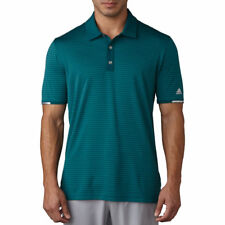 adidas Golf 2017 Climachill Tonal Stripe Men's Polo Shirt - Was Rich Green XXL