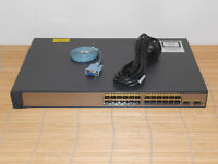 Cisco Catalyst WS-C3750V2-24TS-S Switch with 24x 10/100 + 2x SFP Gigabit Ports