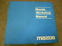 1991 Mazda 929 Service Repair Workshop Shop Manual FACTORY BOOK OEM  91