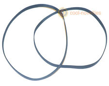 AMSTRAD CPC 6128 FLOPPY DISK DRIVE BELT TWIN PACK (2 NEW BELTS)