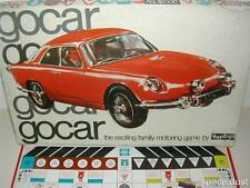 GOCAR GAME - GO CAR GAME - 100% - HAPPITOYS - 1960'S - RARE GAME - MOTORING GAME