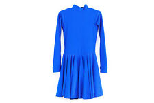 BALLROOM DANCESPORT COMPETITION REGULATION DRESS - NAVY BLUE - US SIZE Y3/4