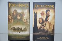 The Lord of the Rings The Fellowship of the Ring & The Two Towers VHS Movie Lot
