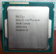 New listing Intel Sr14E Processor i5-4570 3.20 Ghz Free Shipping