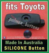 fits Toyota LandCruiser  Hilux remote key - 1 Silicone key BUTTON replacement