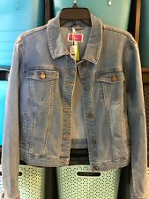 NWT Joules Denim Jacket With Bee Detail UK 14 US 10