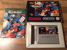 Super Nes:  MICRO MACHINES        PAL EUR