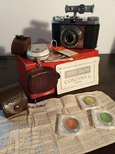 Vintage 1960s Zeiss Ikon Contina la Camera Viewfinder 35mm Film. Photography
