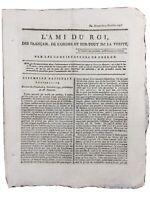 Orgères en 1791 Bretagne Nanteau sur Essonne Cambrai Vaneau Journal Royaliste