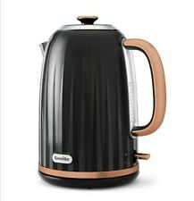 Breville New Black Rose Gold Kettle Kitchen Home Office Fast Boil Cordless Posh