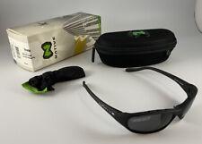 NATIVE EYEWEAR Throttle POLARIZED Sunglasses Black Frame Gray  Lenses New