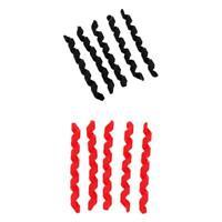 10 set set di gommini per la protezione del telaio della bicicletta in gomma