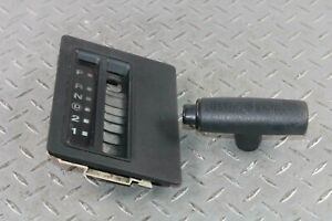 03-06 TJ Automatic AT Transmission Shifter Trim Bezel Indicator Shift Knob Black