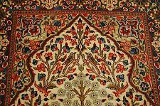 Cir 1930's Antique High Kpsi_Tree Of Life Persian Kerman Lavar_Ravar Rug 3x5.3
