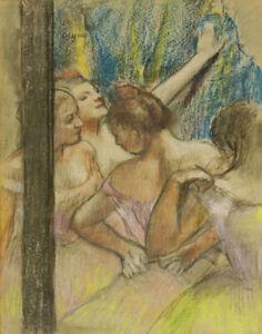 Edgar Degas Dancers Canvas Print 16 x 20     # 4678