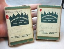 Vintage advertising playing cards. Munson Heating Co. Coal, Gas, Oil. Detroit,MI