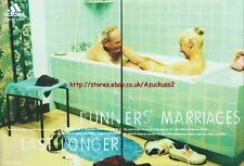 "Adidas ""Runners Marriages Last Longer"" 2001 Magazine 2 Page Advert #3959"
