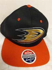 New Anaheim Ducks Mens Size OSFA Flatbrim Snapback Hat