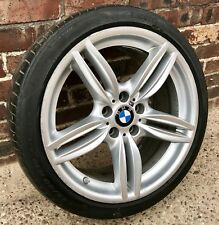 "Genuine BMW 5 6 Series 19"" Front Alloy Wheel M Sport 351M F10 F11 F12 Runflat"