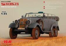 Icm 1/35 Mercedes Typ G4 (Kfz.21), Alemana Segunda Guerra Mundial personal coche # 35538