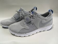 Nike SB Grey White Trainers Sneakers Running Size UK 9 EUR 44 #L