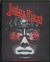 Judas Priest ' Hell Bent For Leather ' Woven Patch