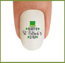 Nail Art St Patricks Day #17 Clover Irish Shamrock WaterSlide Nail Decal Transfr
